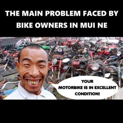 Motorbike repaire in Mui Ne