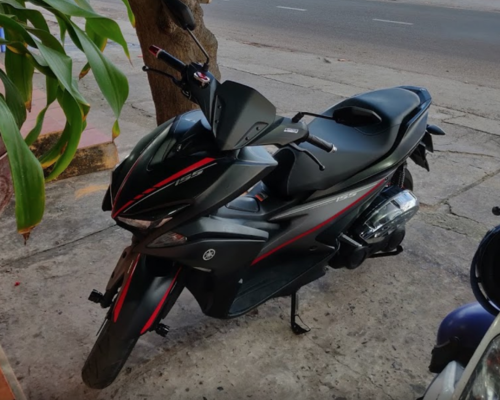 Yamaha NVX rental service Mui Ne